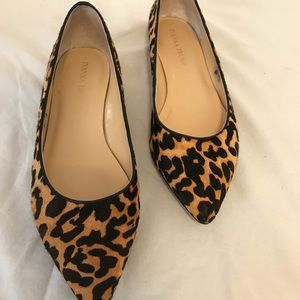 Leopard flats for the edgy gal!
